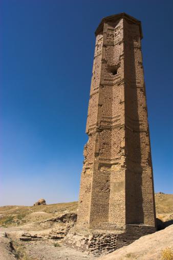 Il minareto di Bahram Shah a Ghazni